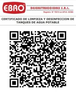 Certificado Ebro