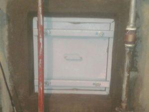 Tapa y marco de cisterna - Despúes