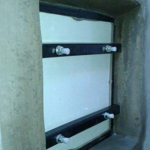 Tapa y marco de tanque- Después